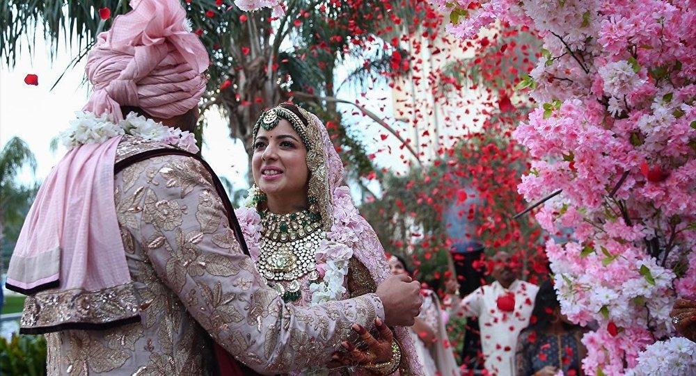 Hint düğünü - düğün gelin ve damat