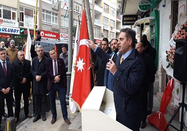 Osmanlı Ocakları Federasyonu Genel Başkanı Kadir Canpolat