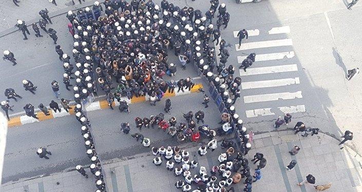 HDP, Taksim, yürüyüş, engelleme