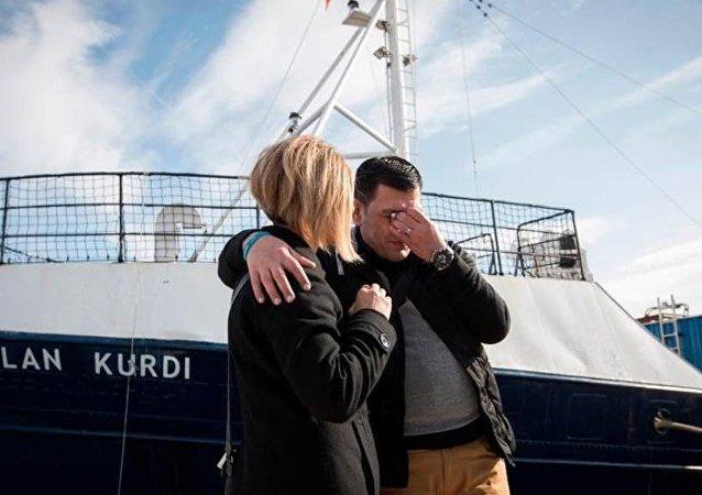 Alan Kurdi'nin babası Abdullah Kurdi