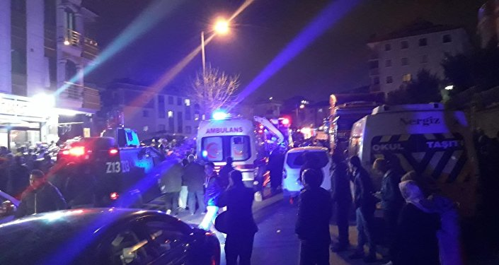 İstanbul Çekmeköy'de askeri helikopter düştü