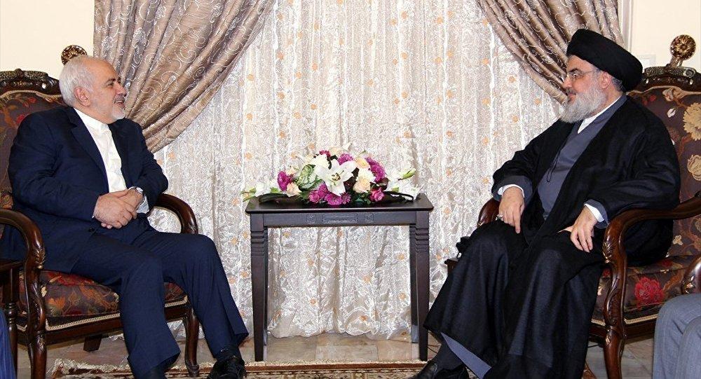 İran Dışişleri Bakanı Zarif, Nasrallah ile görüştü