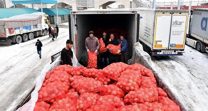 İran, soğan, ithalat