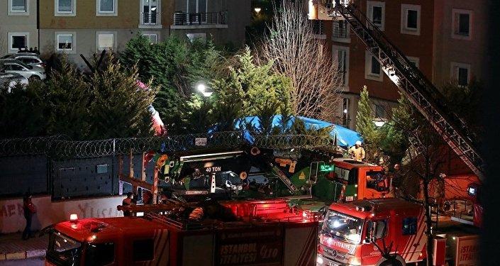 Çekmeköy, helikopter kazası