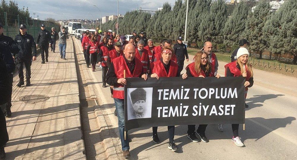 CHP, Ankara, yürüyüş
