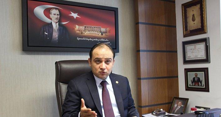 Türk-Rus Parlamentolar Arası Dostluk Grubu Başkanı Murat Baybatur.