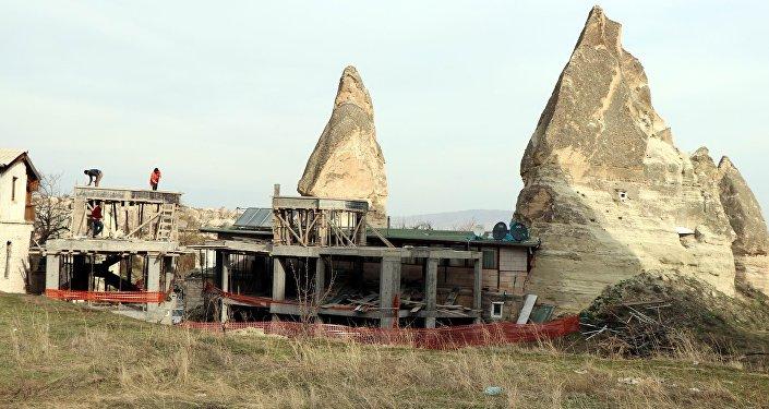 Peribacaları - inşaat