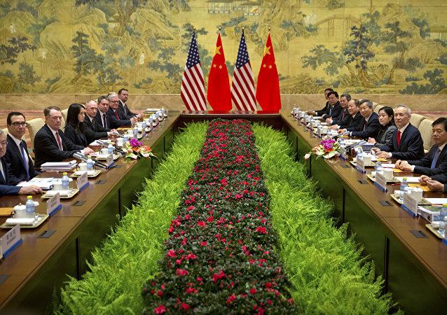 Çin - ABD ticaret müzakereleri
