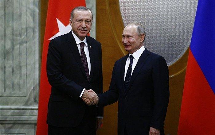 Erdoğan'dan Putin'e: Fırat'ın doğusu temizlenmeden Suriye'nin bütünlüğü sağlanamaz