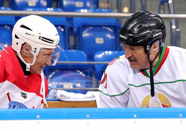 Putin ile Lukaşenko