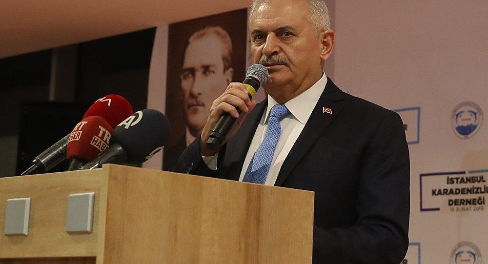 TBMM Başkanı ve AK Parti İstanbul Büyükşehir Belediye Başkan Adayı Binali Yıldırım