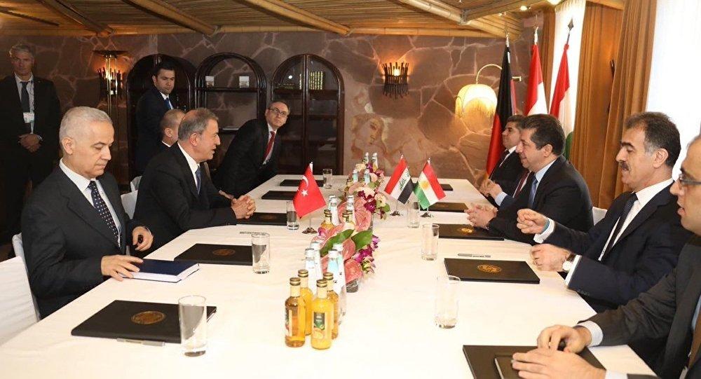 Akar, IKBY Başbakan adayı Barzani ile görüştü