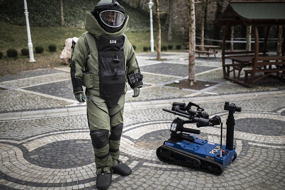 Ertuğrul Bomba İmha Robotu