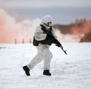 Rusya'da özel kuvvetlerin katılımıyla taktik askeri tatbikat