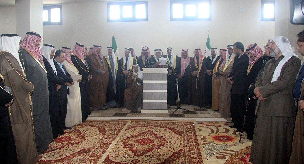 Suriye Kabileler ve Aşiretler Meclisi deklarasyon yayınladı