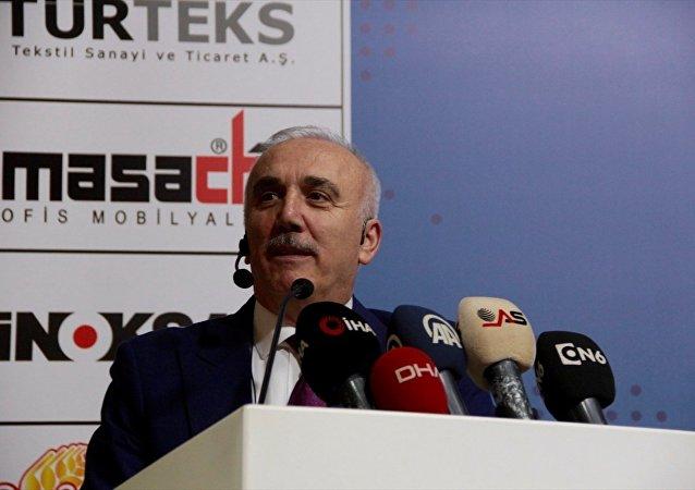 Türkiye Bankalar Birliği (TBB) Başkanı ve Ziraat Bankası Genel Müdürü Hüseyin Aydın