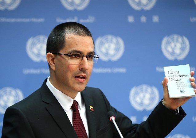 Venezüella Dışişleri Bakanı Jorge Arreaza