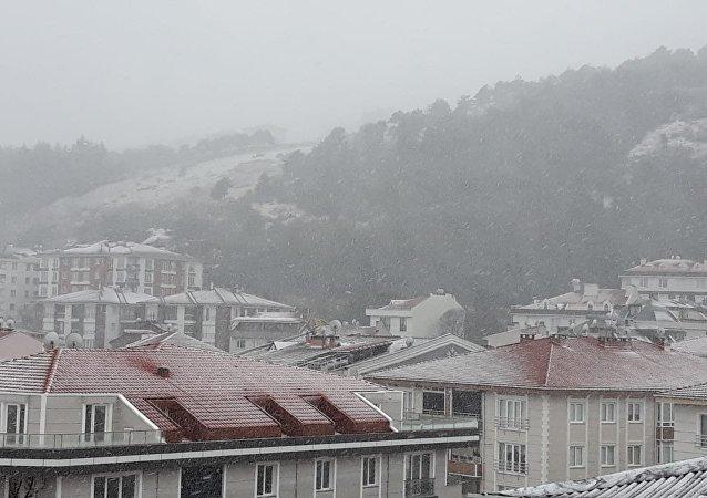Çatalca- Kar yağışı