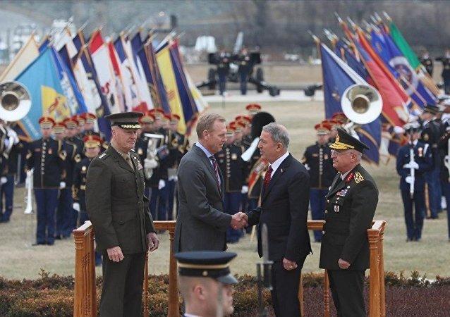 Milli Savunma Bakanı Hulusi Akar - ABD temasları