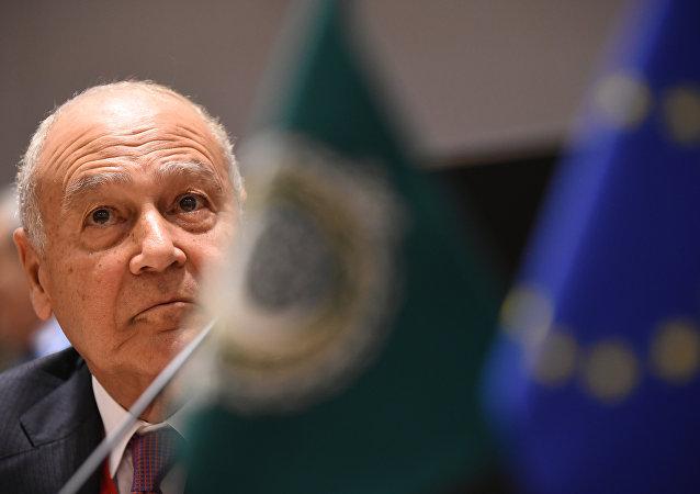Arap Birliği Genel Sekreteri Ahmed Ebu Gayt