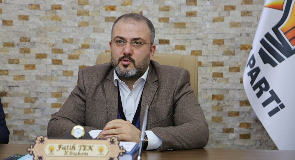 AK Parti Tunceli il Başkanı Fatih Tek