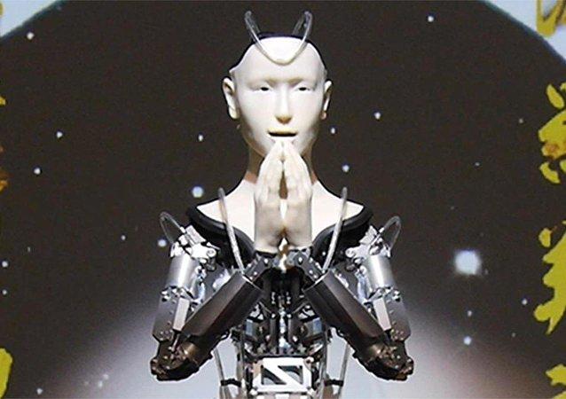 Robot keşiş gençlere Budizm eğitimi verecek - Android Kannon