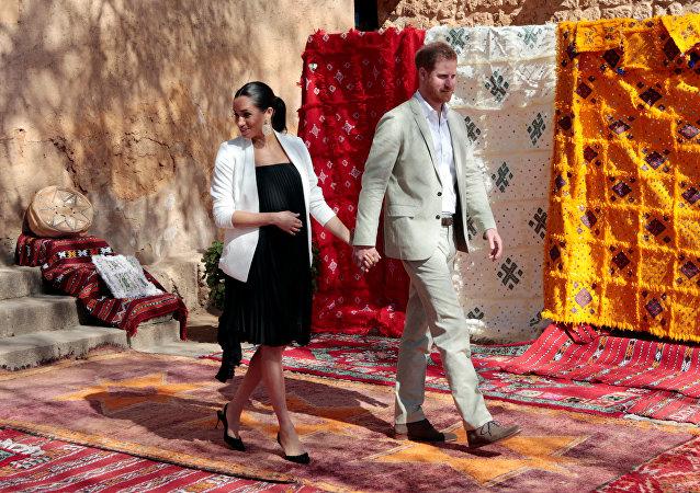 Prens Harry ve eşi Meghan Markle Fas ziyaretinde