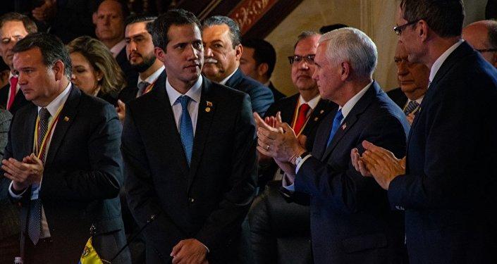 Venezüella'da askeri müdahaleye 'karşı' olduğunu söyleyen Lima Grubu'ndan orduya çağrı