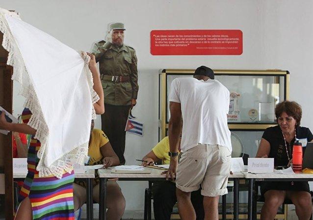 Küba'da yeni anayasa için pazar günü düzenlenen referandum