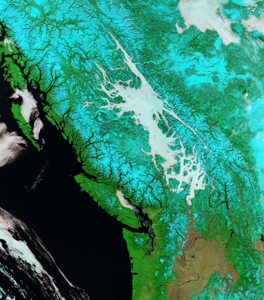 NASA'nın yayınladığı Dünya görüntüleri