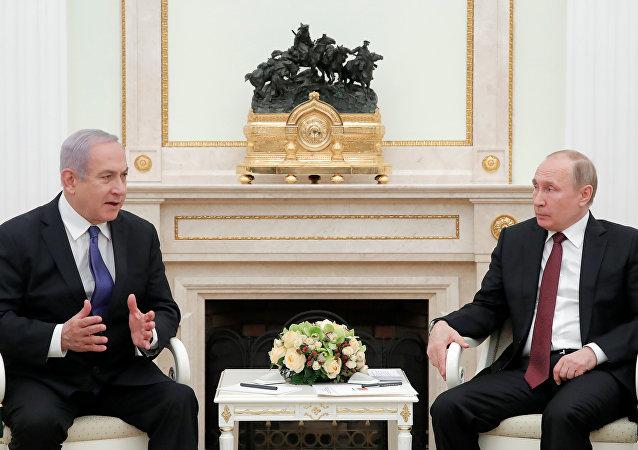 İsrail Başbakanı Benyamin Netanyahu, Rusya Devlet Başkanı Vladimir Putin