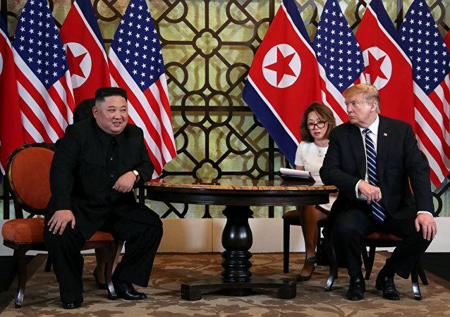 Kim Jong-un- ABD Başkanı Donald Trump