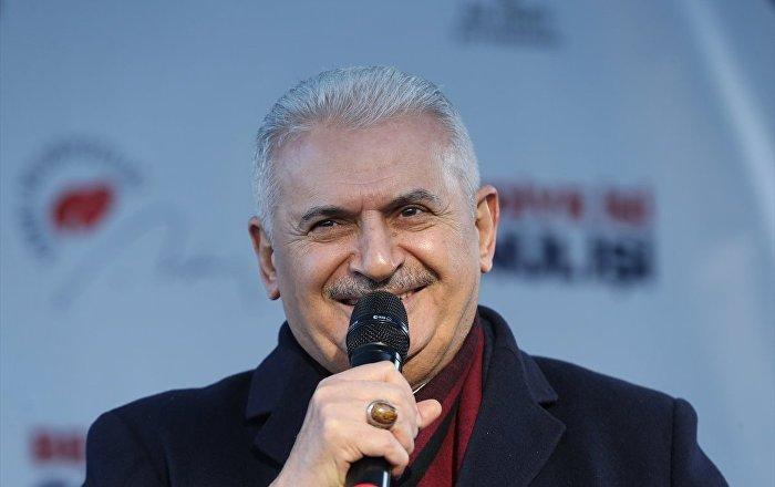 Yıldırım: Anadolu Yakası'na Atatürk Kültür Merkezi yapacağız