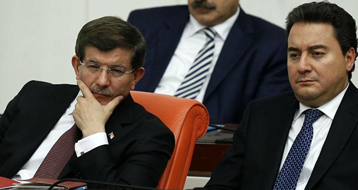 Ahmet Davutoğlu, Ali Babacan