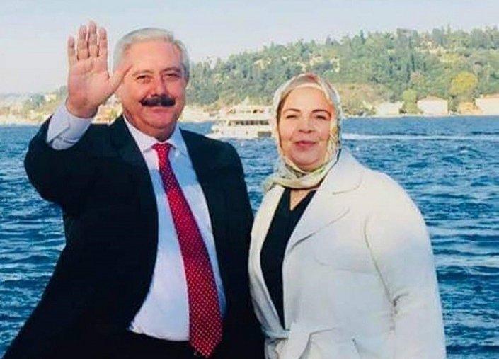 Kadir Altunköse ile eşi Serpil Altunköse