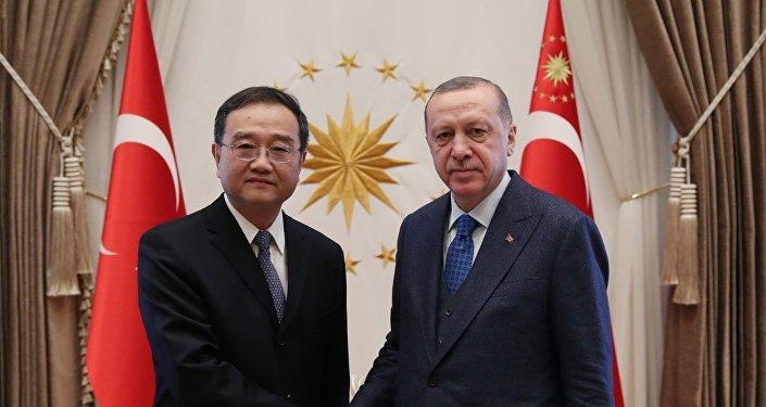 Deng Li - Recep Tayyip Erdoğan