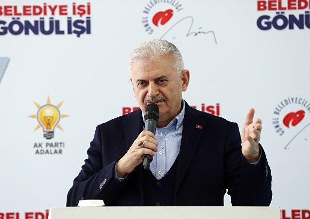 AK Parti İstanbul Büyükşehir Belediye Başkan Adayı Binali Yıldırım