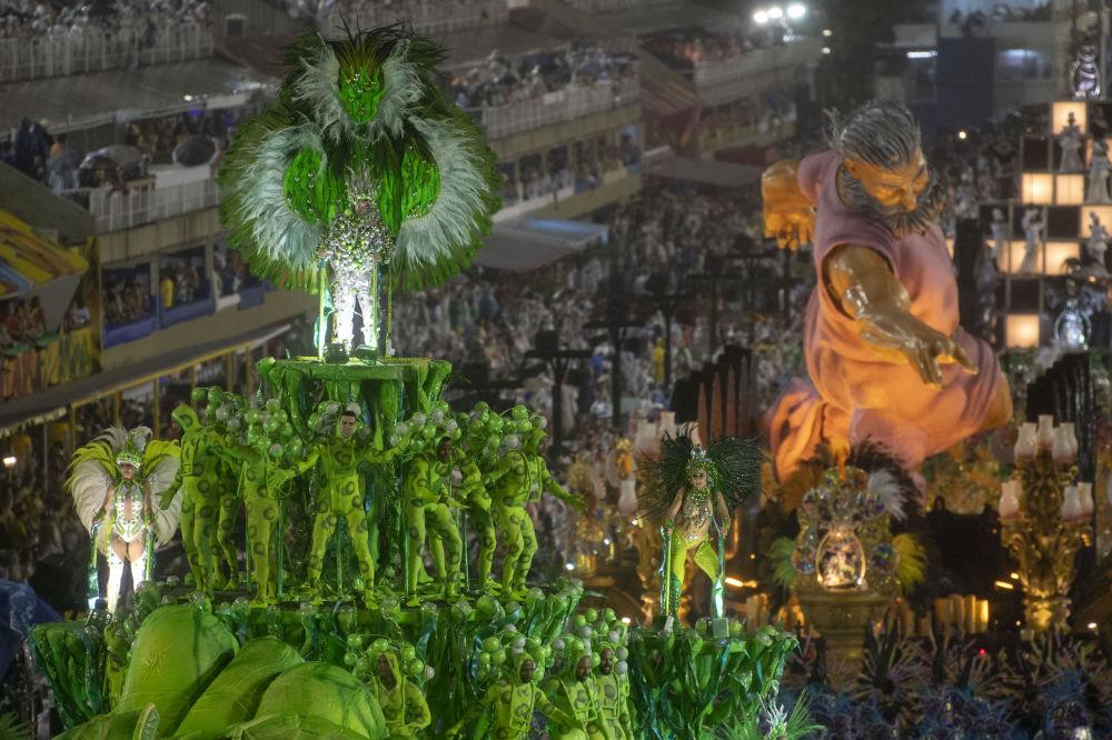 Brezilya'da karnaval zamanı