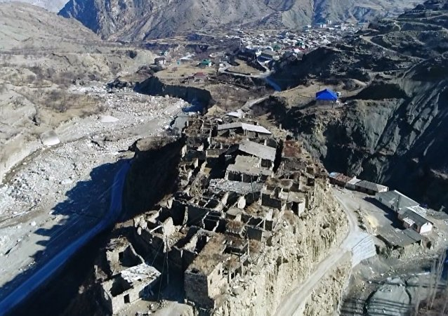 Dağıstan'ın büyüleyici hayalet köyü: Koroda