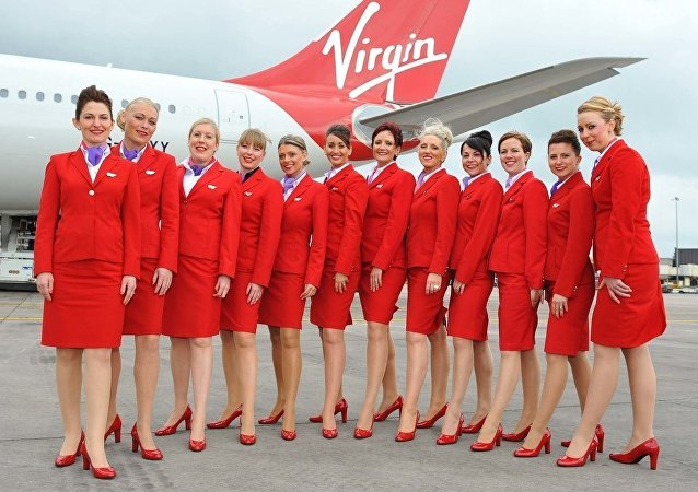 Virgin Atlantic kabin çalışanları (hostesler)