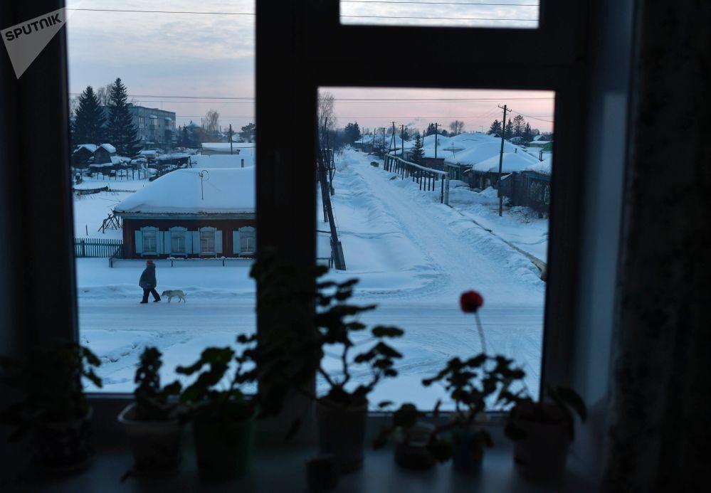 Sibirya'nın en eski kentinden günlük hayat kareleri