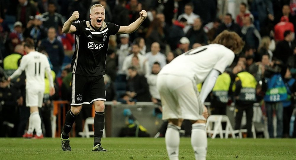 Ajax ve Tottenham, UEFA Şampiyonlar Ligi'nde çeyrek finale yükseldi.