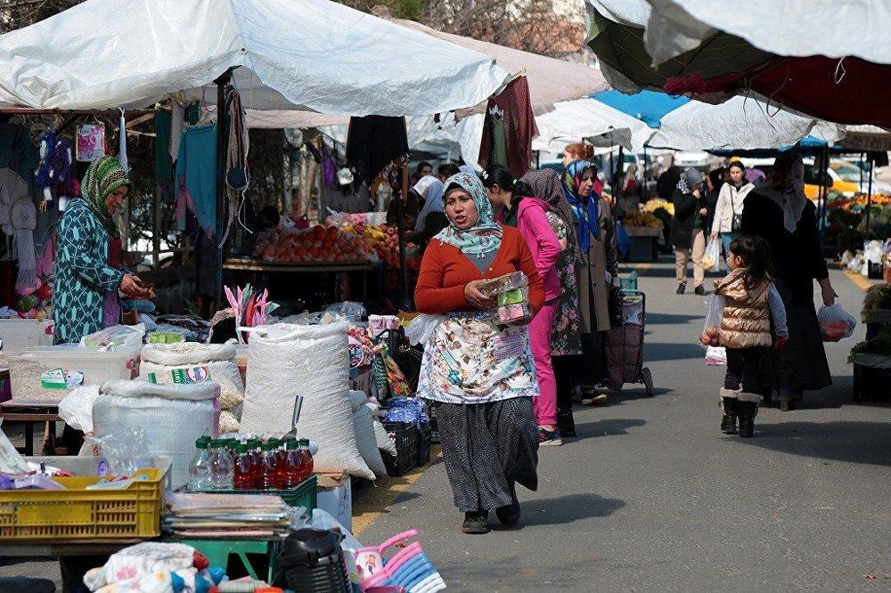 Diyarbakır'da, Türkiye'nin ilk kadın semt pazarı olma özelliği taşıyan Jiyan Semt Pazarı - kadın - pazar