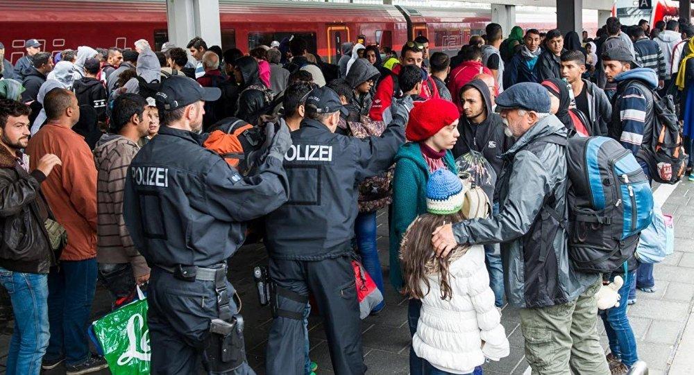 Almanya - sığınmacı