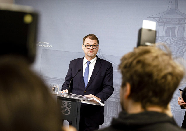 Finlandiya Başbakanı Juha Sipila