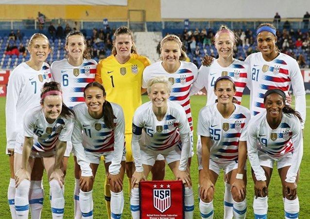 ABD kadın milli futbol takımının oyuncuları