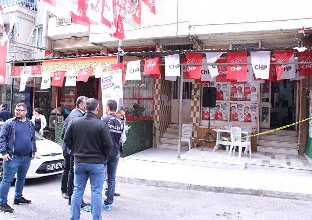 İzmir - CHP'nin seçim bürosu -  silahlı saldırı