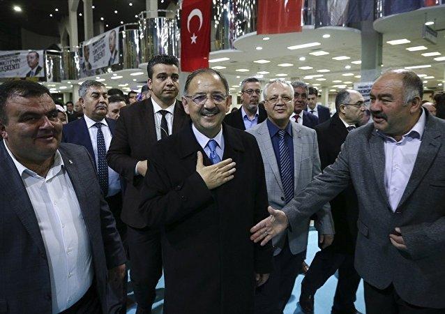 AK Parti Genel Başkan Yardımcısı ve Ankara Büyükşehir Belediye Başkan adayı Mehmet Özhaseki