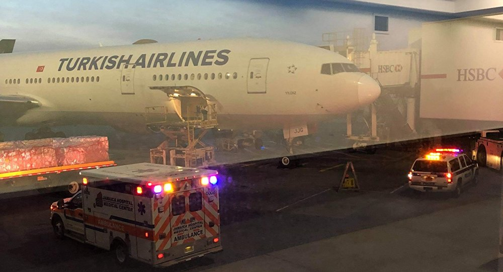 c0cff2662986a İstanbul'dan New York'a giden THY uçağı türbülansa girdi: 30 yaralı ...