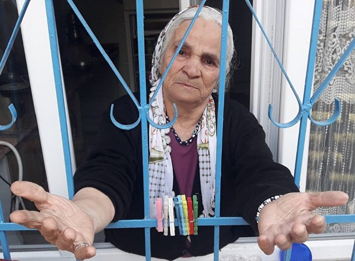 75 yaşındaki Parlak Kalaycı, Okumuşluğum yok, paraya dokunmadım dedi.